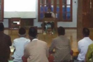Pengajian Dan Wawasan Kebangsaan Di Masjid Jami' Pondok  Pesantren Wali Songo Ngabar Kec. Siman Kab. Ponorogo 2