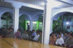 Pengajian Dan Wawasan Kebangsaan Di Masjid Jami' Pondok  Pesantren Wali Songo Ngabar Kec. Siman Kab. Ponorogo 5