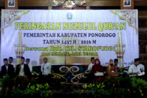 Peringatan Nuzulul Qur'an 1437 H Di Kabupaten Ponorogo  1