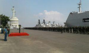 Satgas Batalyon Infanteri Mekanis 516Caraka Yudha Berangkat Tugas operasi  (2)