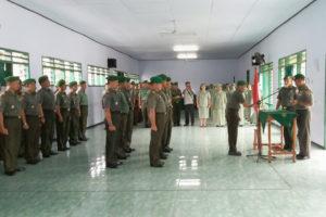 Serah Terima Jabatan Pa Staf Dan Komandan Koramil Jajaran  Kodim 0805Ngawi 6