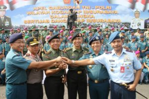 13 PANGARMATIM APEL GABUNGAN TNI POLRI SEWILAYAH KOGARTAP (5)