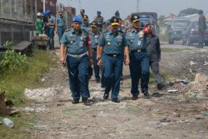 250716 Lantamal V Gelar Pasukan Satgas Pembebasan Tanah   Pesapen Bumimoro Surabaya-5