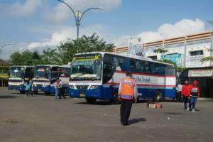 348 Pemudik Warga Trenggalek Di Berangkatkan Ke Surabaya  1