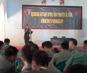 """6. Kodim Bangkalan Gelar Kegiatan """"Binsiap Apwil dan Puanter TW. III TA. 2016"""""""
