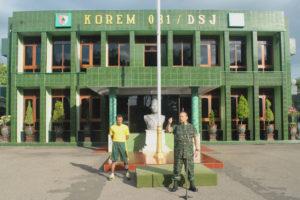 Anggota Makorem 081DSJ Dan Satdisjan Wilayah Madiun Terima  Jam Komandan (1)