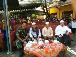 Babinsa Koramil 07 Labang Bangkalan, Hadiri pengajian di Desa Binaan