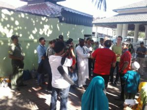 Babinsa Semampir Intens Pantau Wilayah Tugas di Kelurahan Ampel