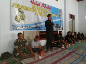 Babinsa Tugu Hadiri Halal Bihalal Keluarga Besar PSHT  Ranting Kecamatan Tugu (1)