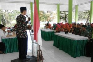 Batuud Koramil  080317 Sawahan Hadiri Halal Bihalal  Keluarga Besar Kecamatan Sawahan Madiun 1