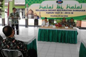 Batuud Koramil  080317 Sawahan Hadiri Halal Bihalal  Keluarga Besar Kecamatan Sawahan Madiun 2