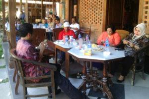 Dandim 0802Ponorogo Hadiri Halal Bihalal Community Ngobar  Bersama Wakil Bupati Ponorogo 1