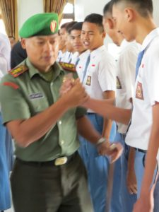 Dandim Bangkalan Buka Latihan Paskibraka Tahun 2016 (4)