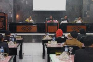 Danramil 080315 Kartoharjo Hadiri Rapat Paripurna  Penyampaian Nota Keuangan Walikota Madiun 1