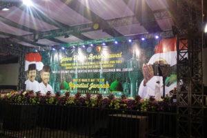 Danramil 13Dongko  Hadiri Pengajian dan Sholawat Di   Kecamatan Dongko Trenggalek (1)