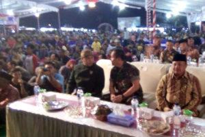 Danrem 081DSJ Hadiri Pertunjukan Pagelaran Wayang Kulit Di  Kabupaten Madiun 7