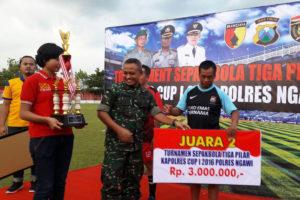 Final Sepak Bola Kapolres Cup Tahun 2016 Di Ngawi 2