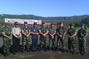 Kasdim 0801Pacitan Hadiri Penutupan Latganda Siswa Setukba  Angkatan Ke-30 Skadik 403 TNI-AU 1