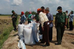Kegiatan Tim sergap Dirjen PSP Kementan Di Wilayah  Mantingan Ngawi 6