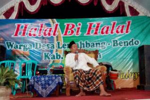 Koramil 080413 Bendo  Halal Bihalal Dengan Warga Desa  Lemahbang Kecamatan Bendo Magetan 4