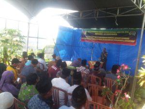 Koramil 13 Arosbaya Bangkalan, Melaksnakan Komsos Dengan Eleman Masyarakat