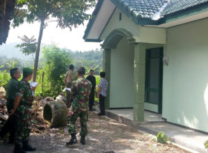 Kunjungan Kerja Tim Pengawas Pemeriksa Hasil Bangunan (TPPHB) Kodam VBrawijaya Di Kodim 0806Trenggalek 1