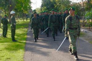 Latihan Devile Minggu Militer Bulan Juli 2016 (4)