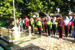 Latihan Paskibraka Serentak di Koramil Jajaran Kodim 0805  Ngawi.5jpg