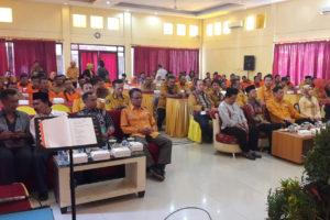 Pasi Intel Kodim 0805Ngawi Hadiri Undangan Muscab Ke II  DPC Partai Hanura Kab. Ngawi 3