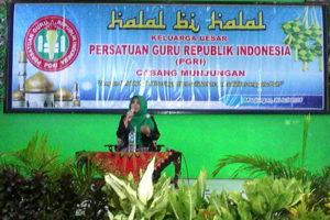 Pembinaan Dinas dan Halal Bihalal Idul Fitri 1437 H oleh  UDPK Kecamatan Munjungan Trenggalek 1