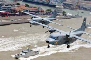 Pesawat-dan-KRI-TNI