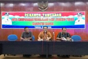 Rapat Koordinasi Satgas Kontra Radikal, Deradikalisasi dan  Anti Premanisme Kabupaten Madiun 2
