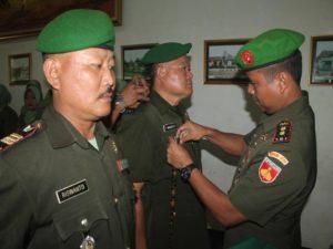 SERAH TERIMA JABATAN PERWIRA STAF DAN DANRAMIL JAJARAN KODIM 0702PURBALINGGA 1