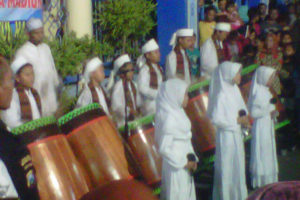 Takbir Keliling dalam rangka Menyambut Hari  Raya Idul  Adha 1437 H Tahun 2016 di Kota Madiun (4)
