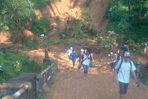 Tanah longsor Dan Banjir Di Kecamatan Munjungan  Trenggalek. 2