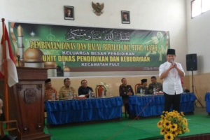 UDPK Pule Kab.Trenggalek Laksanakan Pembinaan Dinas dan  Halal Bihalal Idul Fitri 1437 H2016 M  3