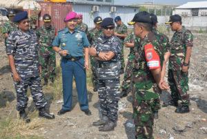 03082016 Asrena dan Aslog Kasal tanjau Penyiapan Lahan TNI     AL Pesapen-2