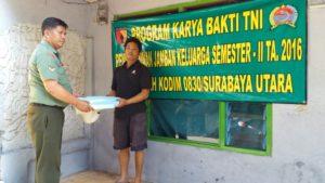 1. Kodim 0830 Surabaya Utara Bangun Jamban Gratis Untuk Warga Gundih