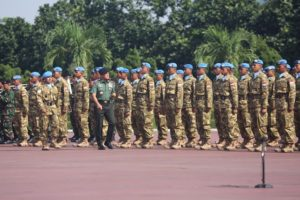 26 PANGLIMA TNI LEPAS SATGAS MARITIM TNI KONGA XXVIII-I KE LEBANON (2)