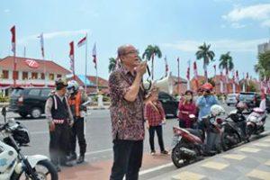 ASM (Arek Suroboyo Menggugat) Berorasi di Gedung Grahadi Surabaya 4