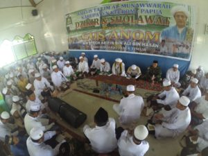 B. 13. Kesenian Hadrah Satgas Yonif Mekanis 516 CY Semarakkan Kegiatan Doa Bersama Di Kabupaten Keerom