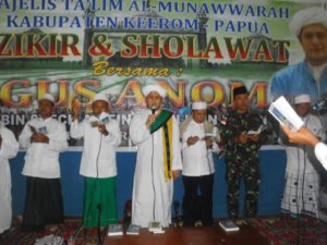 B. 13. Kesenian Hadrah Satgas Yonif Mekanis 516 CY Semarakkan Kegiatan Doa Bersama Di Kabupaten Keerom d