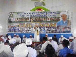 B. 13. Kesenian Hadrah Satgas Yonif Mekanis 516 CY Semarakkan Kegiatan Doa Bersama Di Kabupaten Keerom f