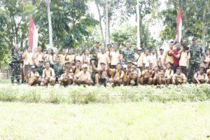 B.08 Satgaspamtas Yonmek 516 CY Bina Pramuka Di Perbatasan RI - PNG  (2)