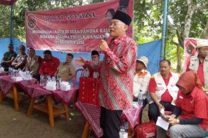 BHAKTI SOSIAL DPP PDIP CABANG PONOROGO DI WILAYAH KEC.  BALONG KAB. PONOROGO 1