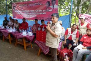BHAKTI SOSIAL DPP PDIP CABANG PONOROGO DI WILAYAH KEC.  BALONG KAB. PONOROGO 4
