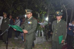 Dandim 0804Magetan Pimpin Pemakaman Praka Anumerta Wahyudi  5