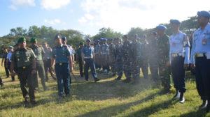 Danlanal Denpasar Hadiri Apel Gelar Pasukan Pamkunjungan      Presiden dan Wapres Ri di Wilayah Provinsi Bali-1