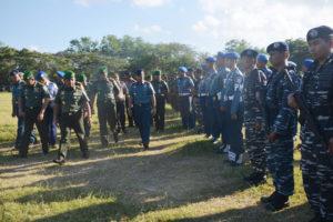 Danlanal Denpasar Hadiri Apel Gelar Pasukan Pamkunjungan      Presiden dan Wapres Ri di Wilayah Provinsi Bali-2