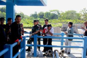 Danrem 081.DSJ Mengecek Bendungan Pengairan Dam Sungkur  Kecamatan Jambon Ponorogo 4